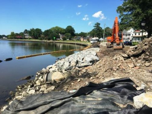 Knitting Mill Creek Shoreline Protection